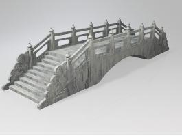 Stone Garden Bridge 3d preview