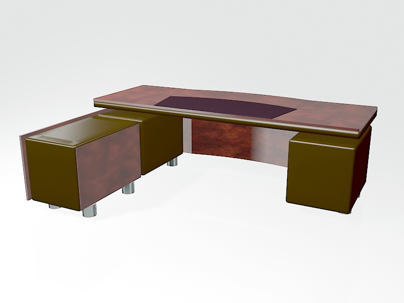 Executive Office Furniture 3d rendering
