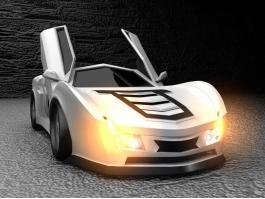 Coolest Concept Car 3d preview