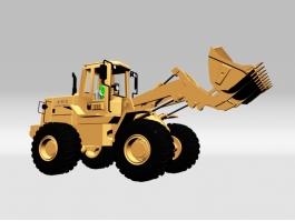 Earth Scraper Machine 3d model preview