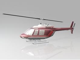 Bell 206 JetRanger 3d preview