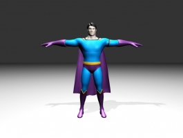Classic Superman 3d preview