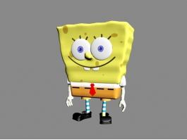 Spongebob Character 3d preview