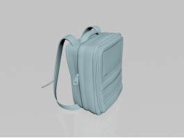 College Backpack 3d preview