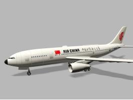 Air China Aircraft 3d preview
