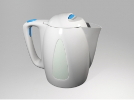 Boiling Water Kettle 3d preview