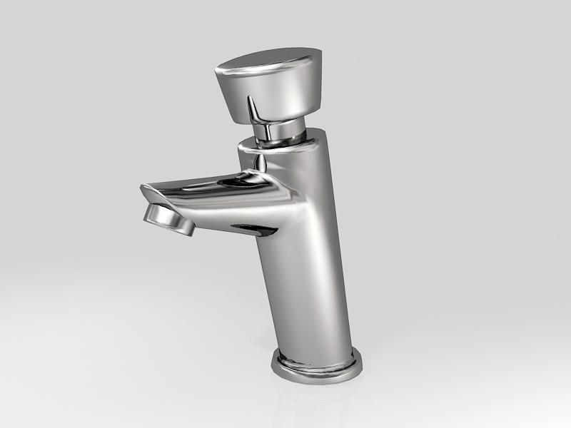 Interior Water Tap 3d rendering