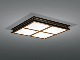 Square Kitchen Ceiling Lights 3d preview