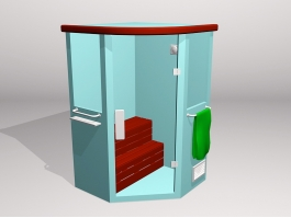 Home Steam Room 3d preview