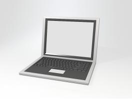 PC Computer Laptop 3d preview