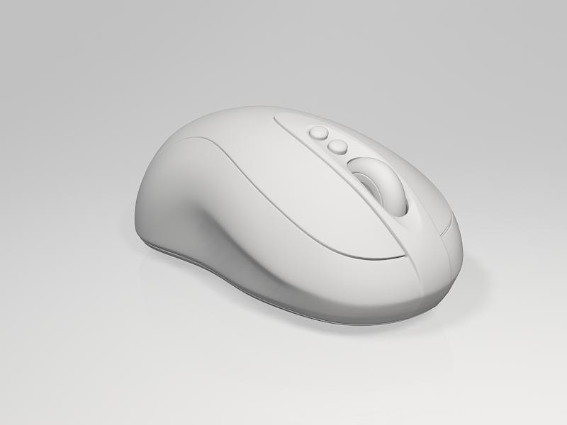 Computer Mice 3d rendering