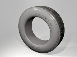 Daytona Radial Tire 3d preview