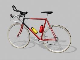 Vintage Gitane Bike 3d preview