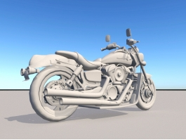 Super Sport Motorcycle 3d model preview