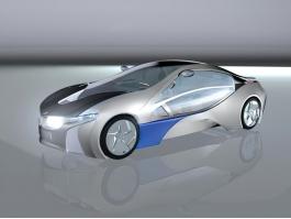 BMW i8 Concept 3d preview