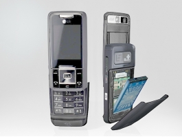 LG KW820 Phone 3d preview