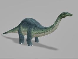 Animated Brontosaurus Dinosaur Rig 3d preview