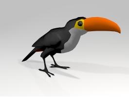 Toucan Parrot 3d preview
