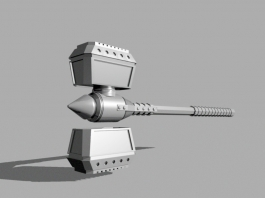 Sci-fi Hammer 3d preview