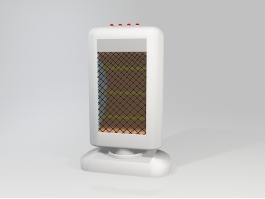 Electric Radiative Space Heater 3d preview