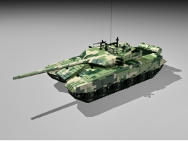 Type 99 Main Battle Tank 3d preview