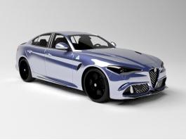 2015 Alfa Romeo Giulia 3d preview