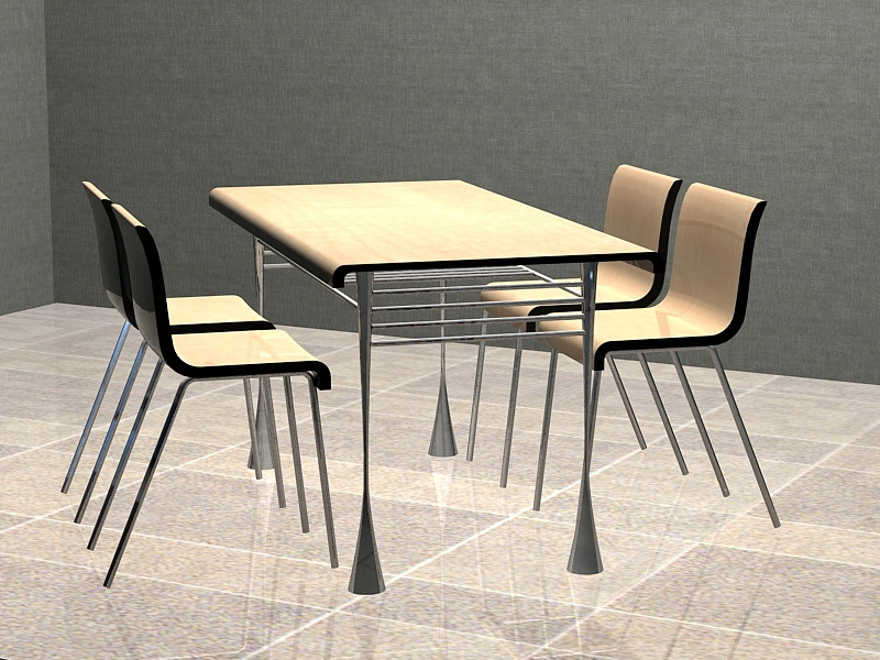 Small Dining Room Sets 3d rendering