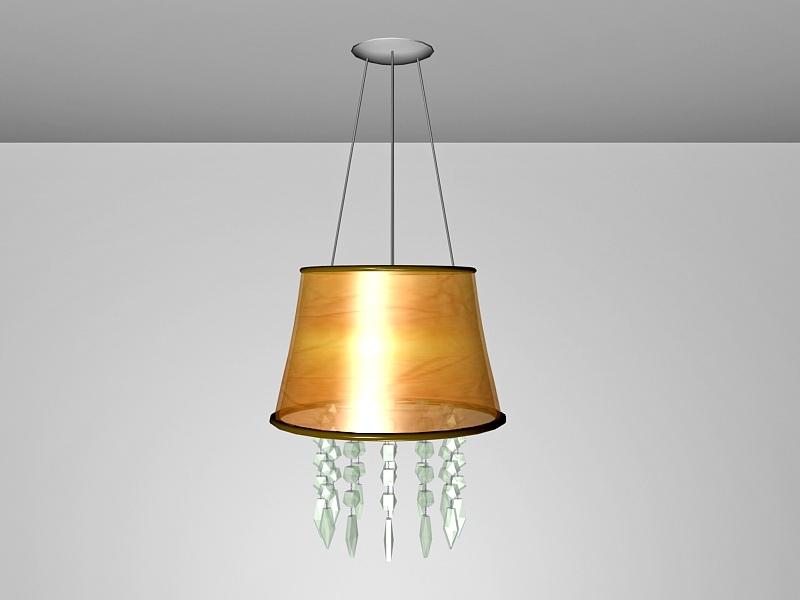 Ceiling Light Pendant Chandelier 3d rendering