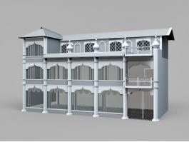 Arabian House Design 3d preview