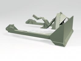 M1 Sherman Dozer Blade 3d preview