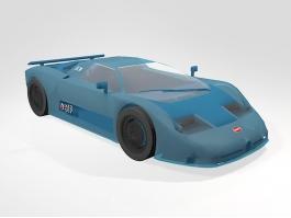 1991 Bugatti 11GB Toy Car 3d preview