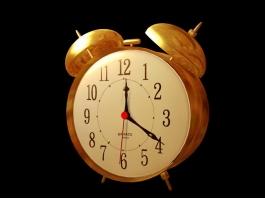 Retro Alarm Clock 3d preview