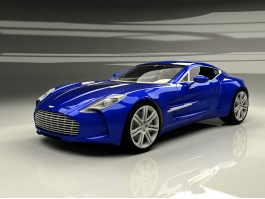 Aston Martin One-77 3d model preview