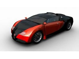 Bugatti Veyron Finish 3d preview