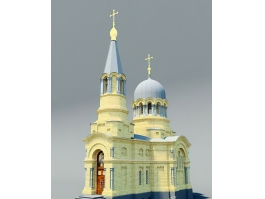 Russian Church Architecture 3d preview