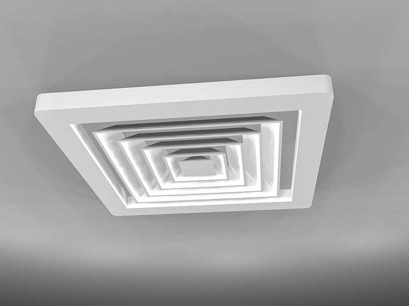 Bathroom Ceiling Exhaust Fan 3d rendering
