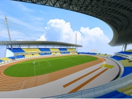 Arena Football Stadium 3d preview
