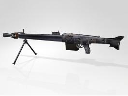 MG 3 Machine Gun 3d preview