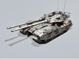 M61A5 Main Battle Tank 3d preview