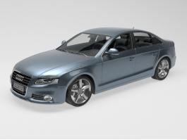 Audi A4 Car 3d preview