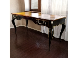 Old Style Luxury Home Office Desk 3d preview