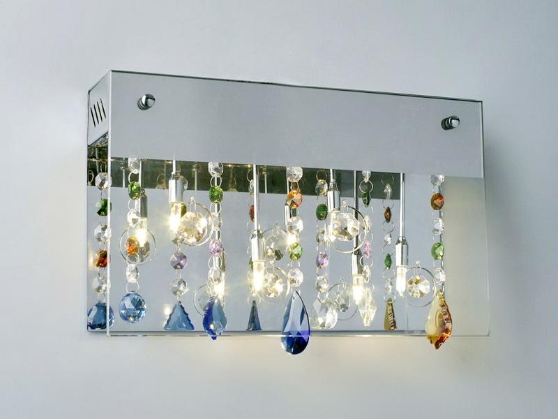 Mini Chandelier Wall Sconce 3d rendering