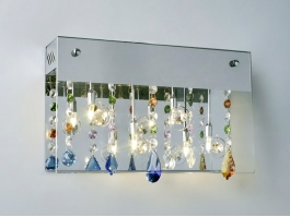 Mini Chandelier Wall Sconce 3d preview