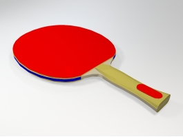 Table Tennis Racket 3d preview