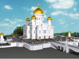 Mosque Architecture 3d preview