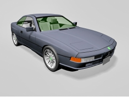 BMW 850 Coupe 3d preview