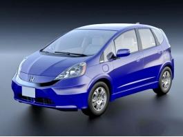 Honda Fit EV Electric Car 3d preview