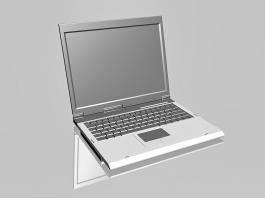 Windows Computers Laptop 3d preview