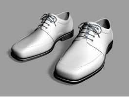 Men's Leather Dress Shoes 3d preview