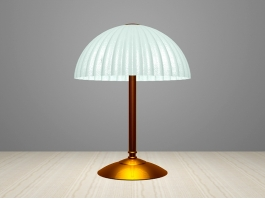 Retro Brass Table Lamp 3d model preview